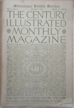 The Century Illustrated Monthly Magazine. August, 1895. James Whitcomb Riley