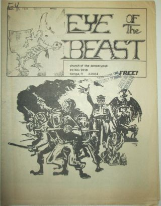 Eye of the Beast. Nov. 7, 1970. authors