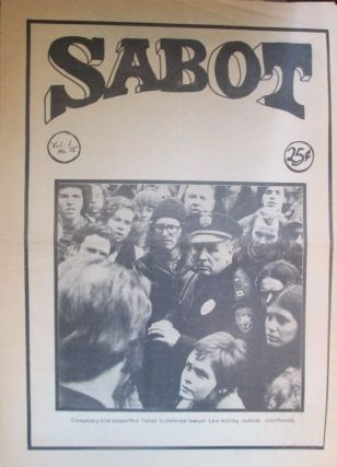Sabot. Volume 1. Number 15. Authors