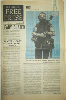 Los Angeles Free Press. February 5-11, 1971. Eldridge Cleaver, Timothy Leary