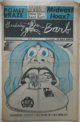 The Berkeley Barb. Nov. 2-8, 1973. authors