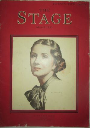 The Stage. March 1933. Authors