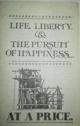 Life, Liberty, and the Pursuit of Happiness…at a Price. Local 6 Legal Defense Committee