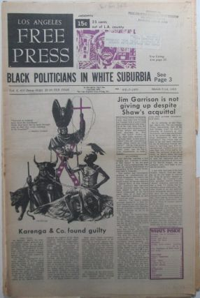 Los Angeles Free Press March 7-14, 1969. In two parts, Complete. Authors