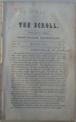 The Scroll. March, 1851. Vol. II., No. 1