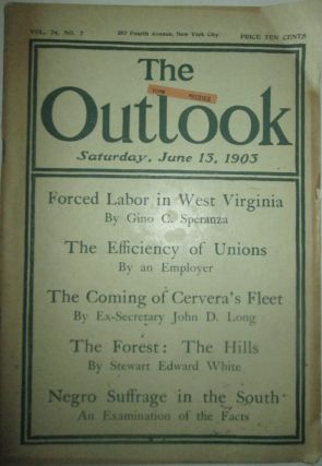 The Outlook. Saturday, June 13, 1903. authors