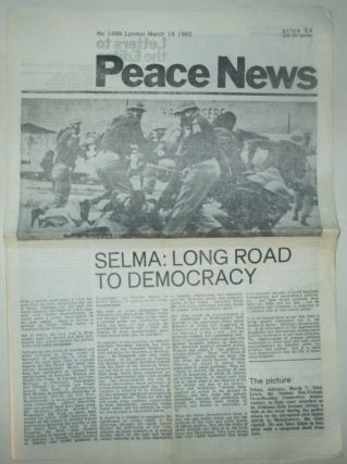 Peace News. March 19, 1965. No. 1499. authors