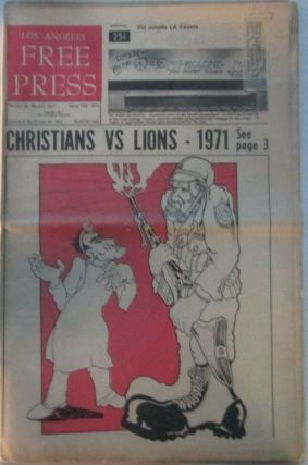 Los Angeles Free Press February 26-March 5, 1971. authors