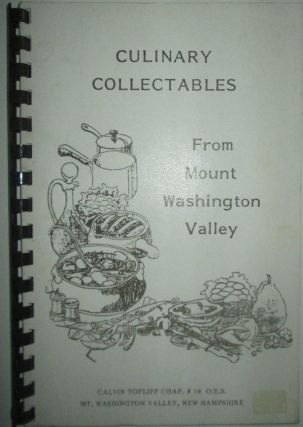 Culinary Collectables From Mount Washington Valley. authors