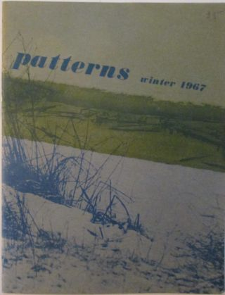 Patterns. Winter 1967. Volume 1, Number 1. Clark Coolidge, Aram Saroyan, Holly Cary