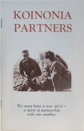 Koinonia Partners Promotional Booklet. Given