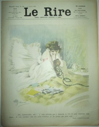 Le Rire. Nouvelle Serie No. 74. Juillet 1904. artists