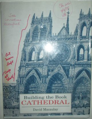 Building the Cathedral. David Macaulay