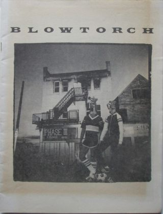 Blowtorch. Number One. Summer 1980. WT
