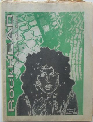 Rockhead. Winter 1990. Volume 18. Issue 2. Authors